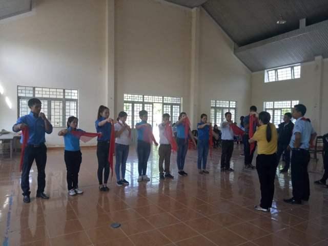 Lớp tập huấn công tác Đội và phong trào thiếu nhi huyện Lắk, năm học 2018 - 2019