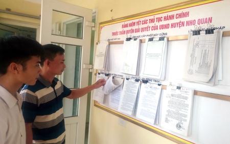 Thực hiện việc kiểm soát thủ tục hành chính năm 2018 trên địa bàn tỉnh