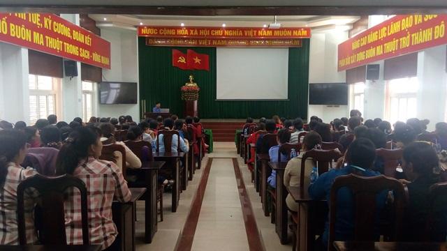 Hội LHPN tỉnh Đắk Lắk tổ chức Truyền thông Phụ nữ với an toàn thực phẩm