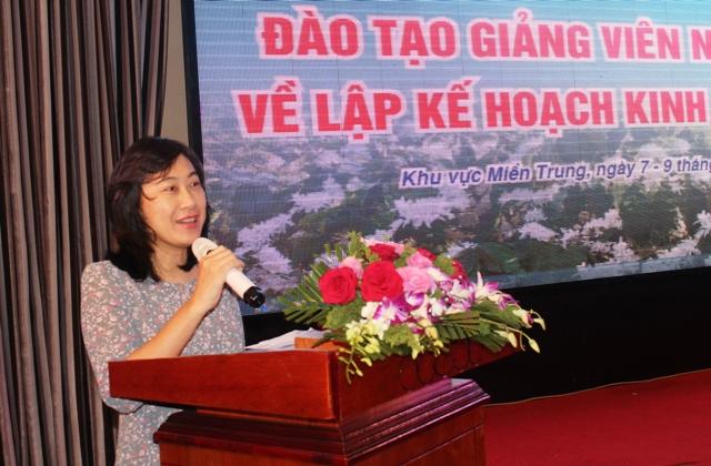 Trung ương Hội Liên hiệp Phụ nữ Việt Nam đào tạo giảng viên nguồn về lập kế hoạch kinh doanh