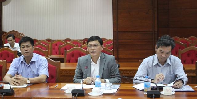 UBND tỉnh làm việc với Ban điều hành Kênh truyền hình Quốc gia VTV8