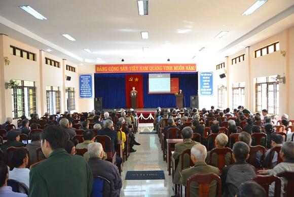 Thành phố Buôn Ma Thuột tổ chức gặp mặt cán bộ, sỹ quan nhân kỷ niệm 74 năm Ngày thành lập Quân đội Nhân dân Việt Nam và 29 năm Ngày hội Quốc phòng toàn dân