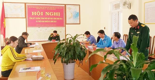 Ban Chỉ huy quân sự  huyện M'Đrắk: Phối hợp vận động hàng trăm triệu đồng thực hiện công tác dân vận