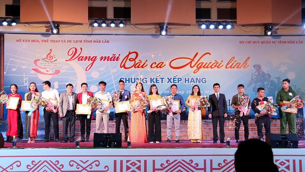 Vòng chung kết xếp hạng Liên hoan giọng hát hay tỉnh Đắk Lắk lần thứ VI