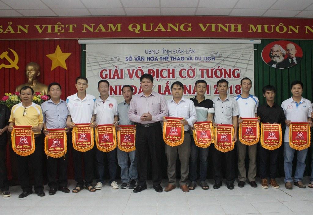 Khai mạc Giải vô địch Cờ tướng tỉnh Đắk Lắk năm 2018