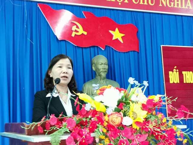 UBND huyện M'Đrắk: Tổ chức Hội nghị đối thoại trực tiếp với người nghèo xã Ea Pil năm 2018