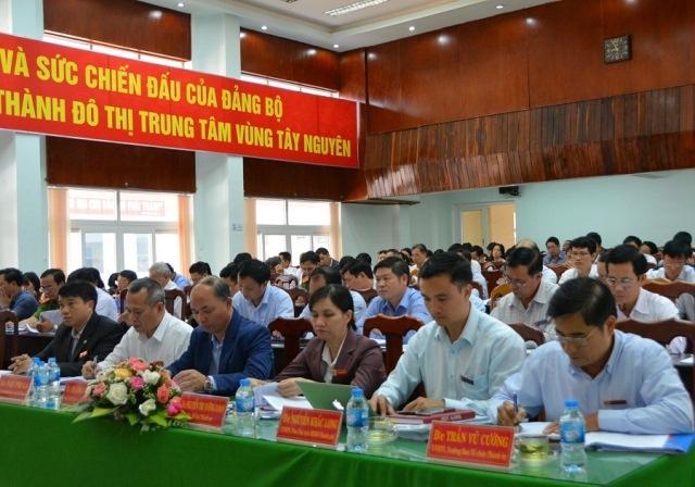 Hội nghị Ban Chấp hành Đảng bộ thành phố Buôn Ma Thuột lần thứ 20 mở rộng