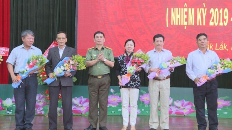 Đại hội Câu lạc bộ hưu trí Công an tỉnh Đắk Lắk