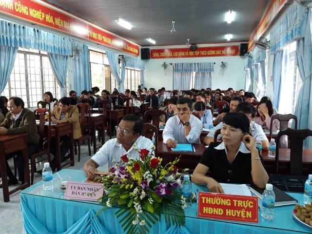 Ban quản lý Dự án giảm nghèo Tây Nguyên huyện M'Đrắk Tổng kết hoạt động Dự án năm 2018, triển khai phương hướng năm 2019