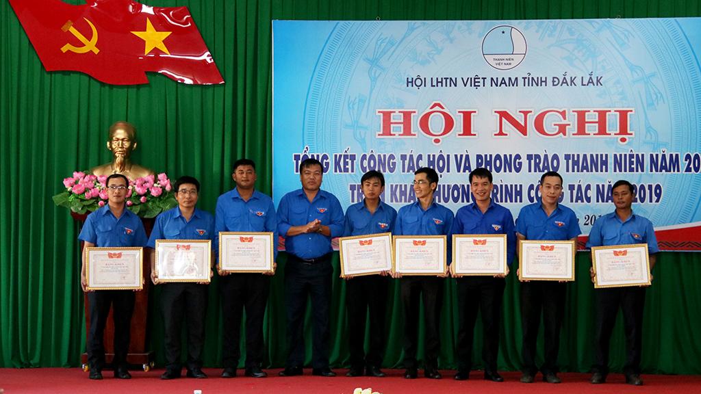 Hội Liên hiệp thanh niên Việt Nam tỉnh tổng kết công tác Hội và phong trào thanh niên năm 2018