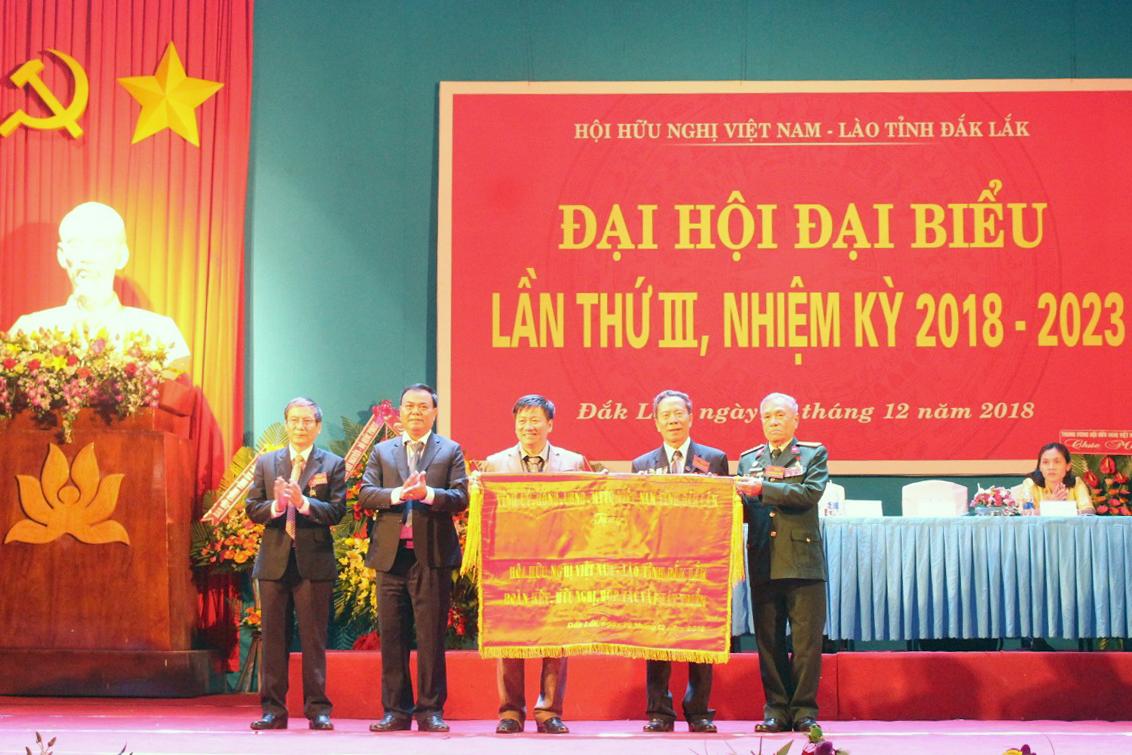 Đại hội đại biểu Hội Hữu nghị Việt Nam – Lào tỉnh Đắk Lắk lần thứ III, nhiệm kỳ 2018-2023