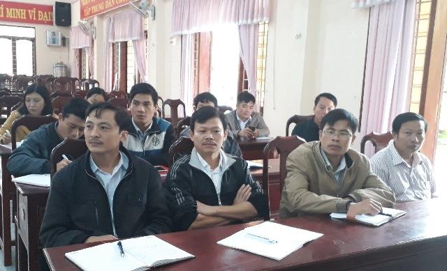Ủy ban Kiểm tra Huyện ủy M'Đrắk: Tổ chức tập huấn công tác kiểm tra, giám sát năm 2018
