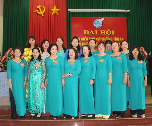 Đại hội đại biểu phụ nữ phường Tân An lần thứ V nhiệm kỳ 2016 - 2021.