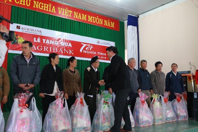 Agribank chi nhánh tỉnh Đắk Lắk, khởi động chương trình an sinh xã hội nhân dịp Tết Kỷ Hợi - 2019