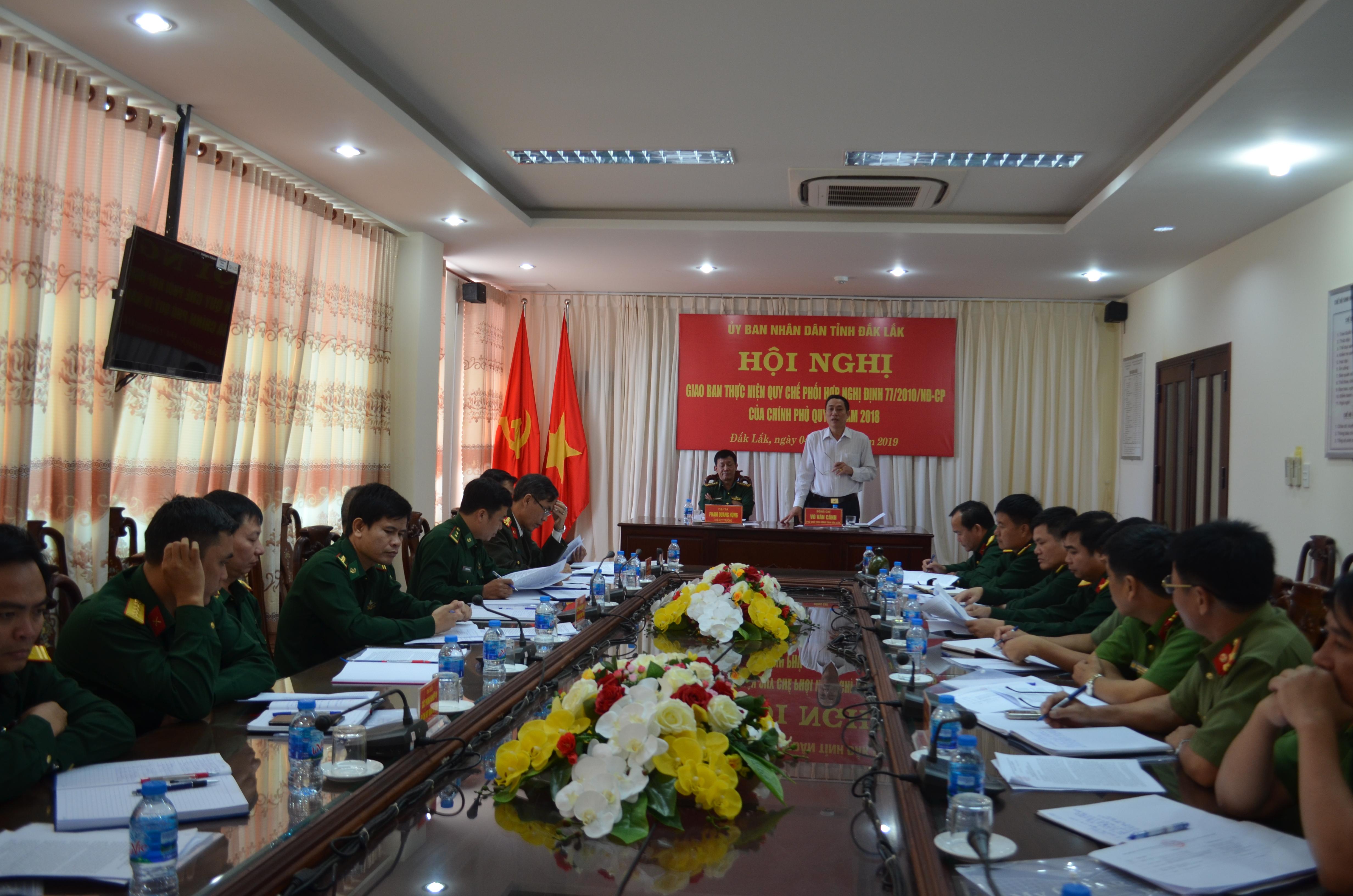 Nâng cao khả năng phối hợp trong thực hiện Nghị định 77 của Chính phủ