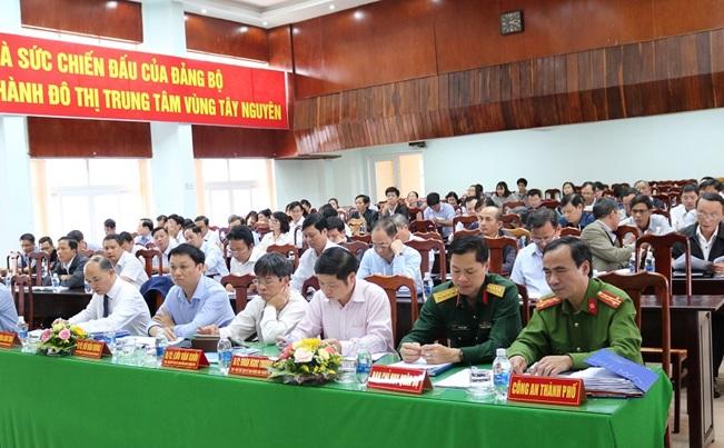 UBND thành phố Buôn Ma Thuột tổ chức Hội nghị tổng kết nhiệm vụ năm 2018 và triển khai kế hoạch năm 2019