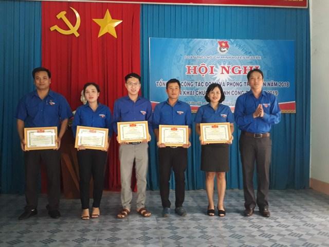 Huyện M'Đrắk tổng kết công tác Đoàn và phong trào thanh thiếu nhi năm 2018 và triển khai chương trình năm 2019