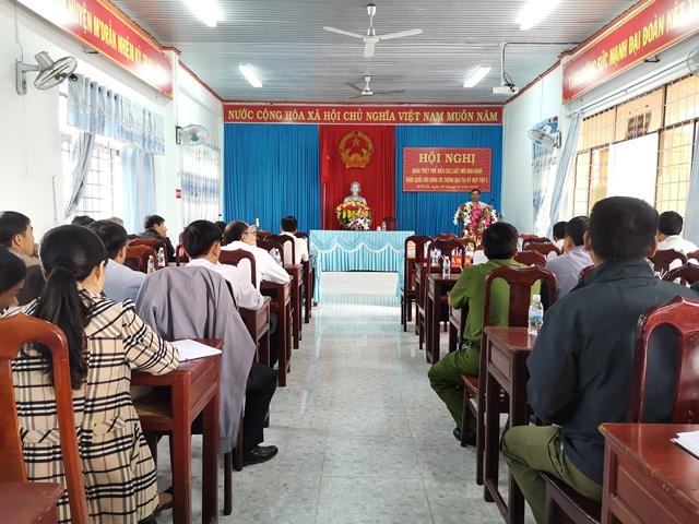 Huyện M'Đrắk: Quán triệt phổ biến các Luật mới ban hành được Quốc hội khóa XIV thông qua tại Kỳ họp thứ 5