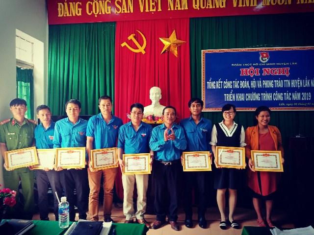 Hội nghị tổng kết công tác Đoàn, Hội và phong trào Thanh thiếu nhi Huyện Lắk năm 2018