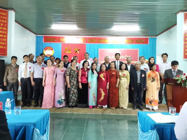 Đại hội Đại biểu MTTQVN thị trấn M'Đrắk lần thứ IX, nhiệm kỳ 2019-2024