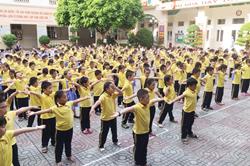 Tăng cường thể lực, phòng chống bệnh cho trẻ em