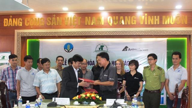 Ký kết thỏa thuận hợp tác thực hiện Dự án bảo tồn Voi Việt Nam tại tỉnh Đắk Lắk