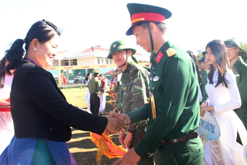 468 học sinh tham gia Hội thao Giáo dục quốc phòng – an ninh học sinh THPT tỉnh Đắk Lắk lần thứ V, năm học 2018 – 2019