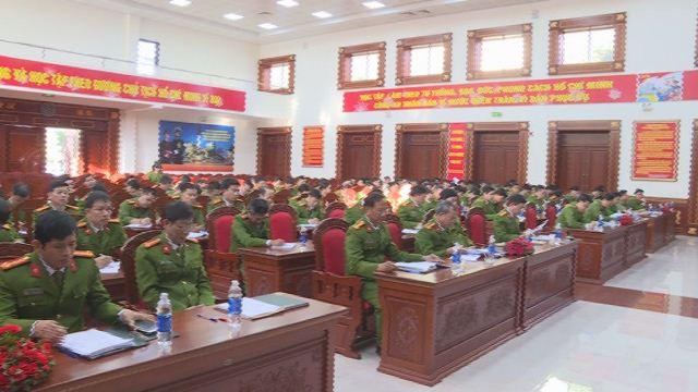Cơ quan cảnh sát điều tra Công an tỉnh Đắk Lắk tổng kết công tác năm 2018