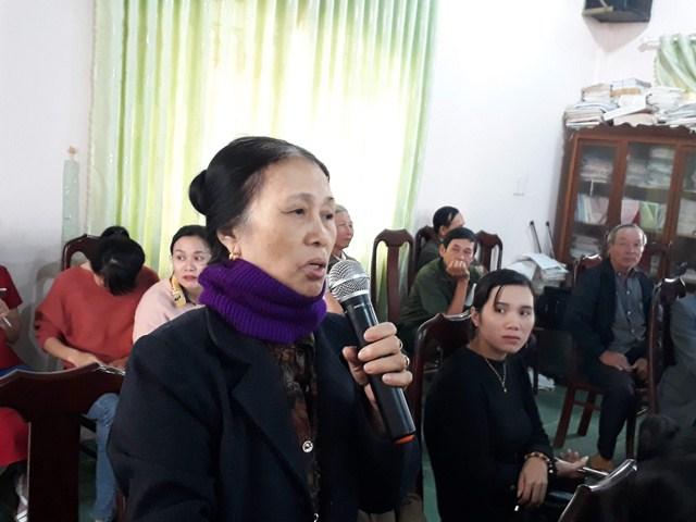 Huyện M'Đrắk: Đại biểu Hội đồng nhân dân 3 cấp tiếp xúc cử tri tại xã Ea Lai