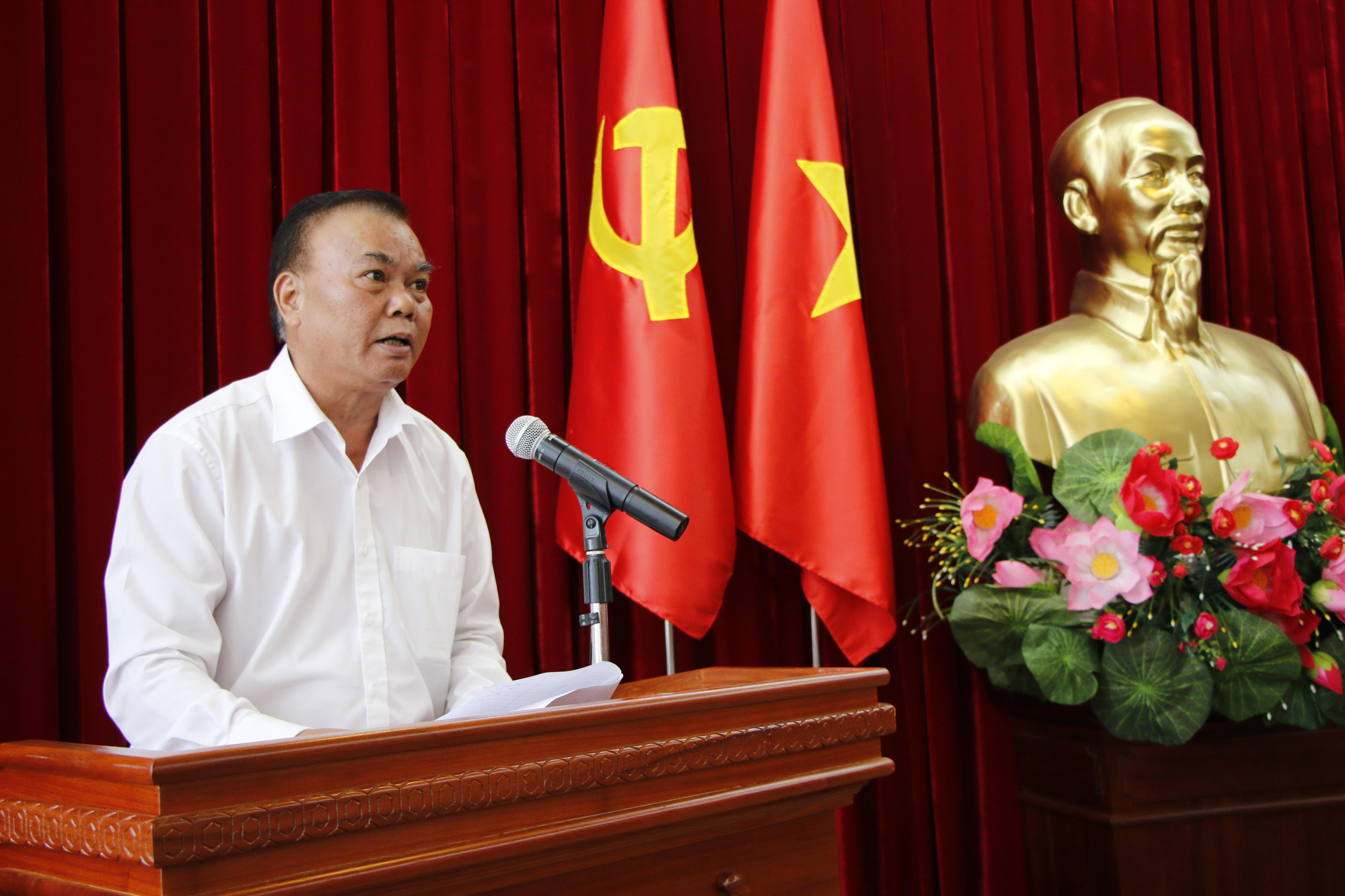 Hội nghị Ban Chấp hành Đảng bộ tỉnh lần thứ 20