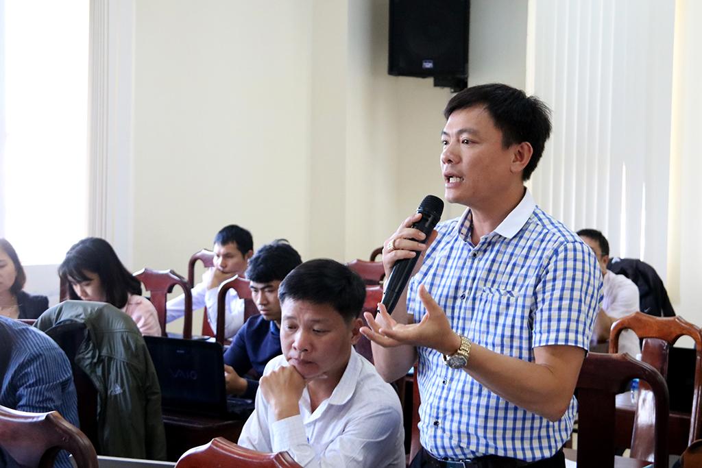 Tập huấn hướng dẫn sử dụng phần mềm Quản lý hồ sơ cán bộ, công chức, viên chức tỉnh Đắk Lắk