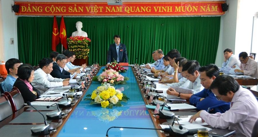 Đoàn công tác Tỉnh ủy Đắk Lắk làm việc với Ban Thường vụ Thành ủy Buôn Ma Thuột