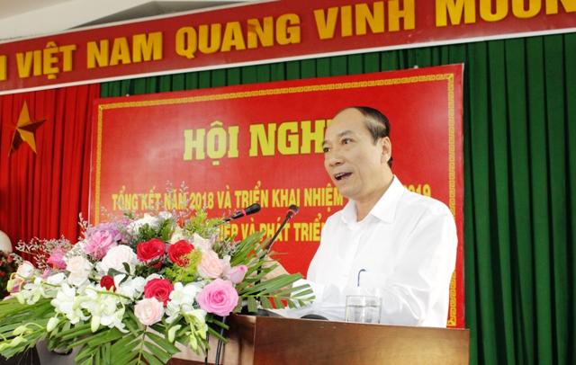 Sở Nông nghiệp và Phát triển nông thôn triển khai nhiệm vụ 2019