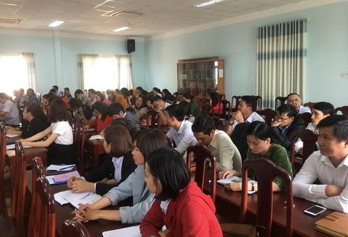 Hội nghị học tập, quán triệt Nghị quyết Trung ương 8 khóa XII và chuyên đề về tư tưởng, đạo đức, phong cách Hồ Chí Minh