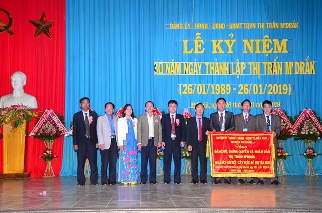 Thị trấn M'Đrắk tổ chức Lễ kỷ niệm 30 năm ngày thành lập (26/01/1989 – 26/01/2019).