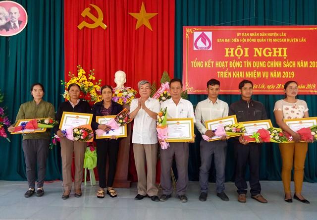 Ngân hàng chính sách xã hội huyện Lắk triển khai nhiệm vụ năm 2019