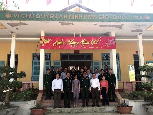 Lãnh đạo thành phố Buôn Ma Thuột thăm và chúc Tết Đồn Biên phòng Boo Heng, đơn vị kết nghĩa với Thành phố.