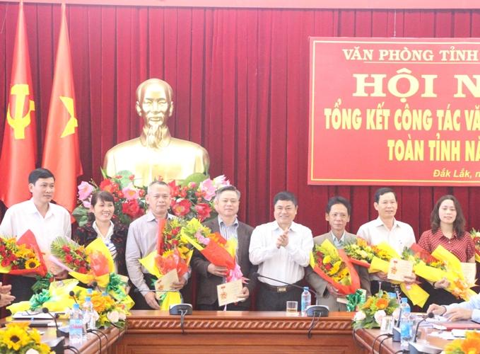 Hội nghị tổng kết công tác văn phòng cấp ủy toàn tỉnh năm 2018