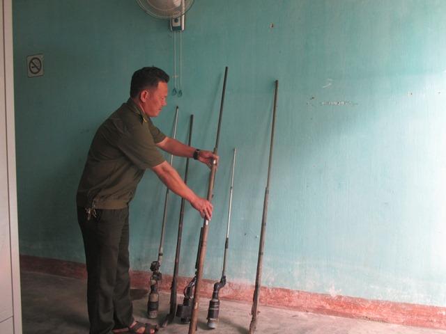 Công an xã Hòa Phong mở đợt ra quân cao điểm trấn áp tội phạm