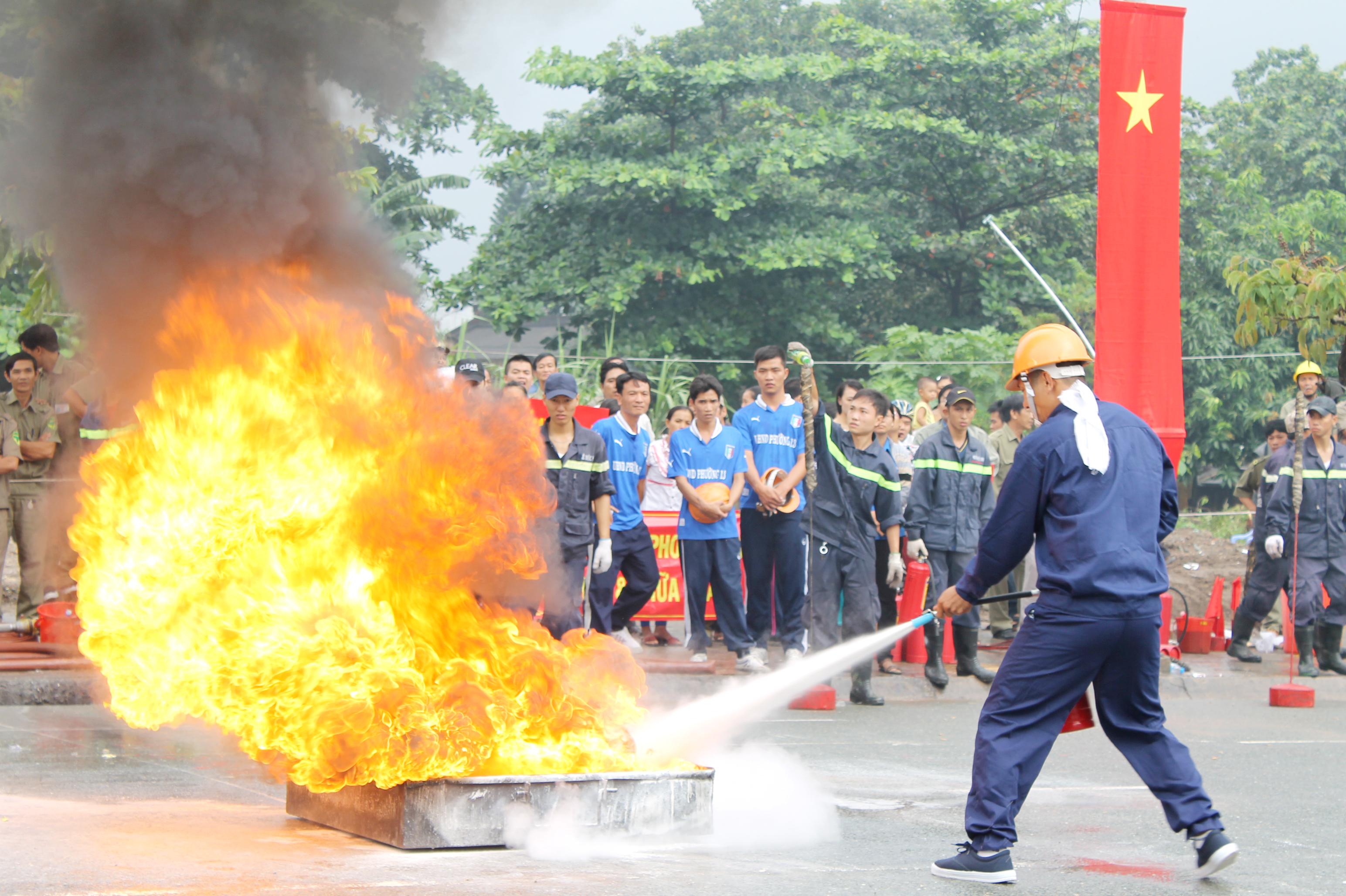 Tăng cường công tác quản lý phòng cháy chữa cháy tại khu dân cư