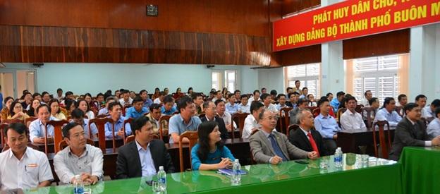 Lãnh đạo thành phố Buôn Ma Thuột gặp mặt đầu Xuân Kỷ Hợi 2019