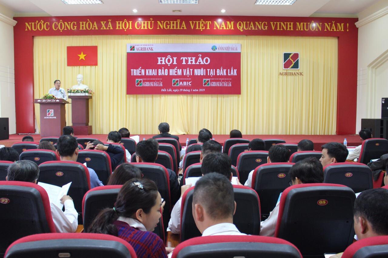 Agribank Đắk Lắk triển khai thí điểm sản phẩm Bảo hiểm nông nghiệp