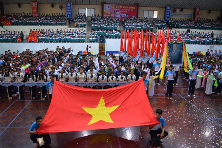 Khai mạc Hội khỏe Phù đổng tỉnh Đắk Lắk lần thứ XIII – năm 2016.
