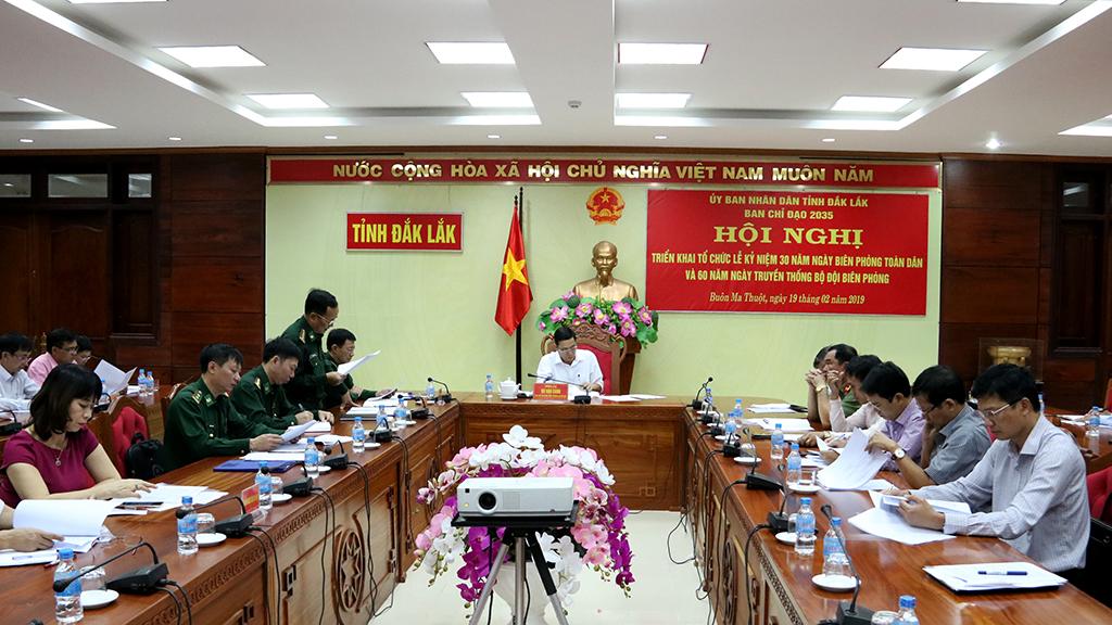 Triển khai tổ chức Lễ kỷ niệm 30 năm Ngày Biên phòng toàn dân và 60 năm Ngày truyền thống Bộ đội Biên phòng