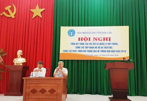 BHXH tỉnh Đắk Lắk và Bưu điện tỉnh triển khai công tác phối hợp năm 2019
