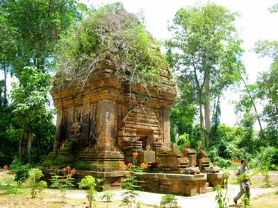 Tháp Yang Prong- tháp chăm duy nhất tại Tây Nguyên