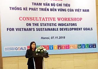 Triển khai Quy định Bộ chỉ tiêu thống kê phát triển bền vững của Việt Nam