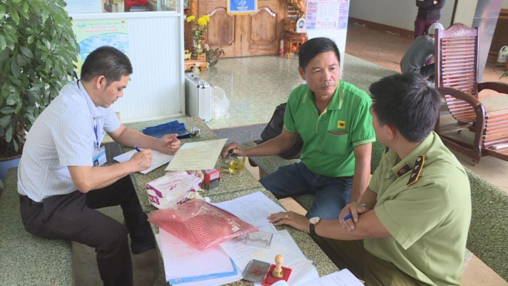 Phạt 108 triệu đồng, rút giấy phép kinh doanh xăng dầu của Doanh nghiệp tư nhân Bình Yên, huyện Krông Ana