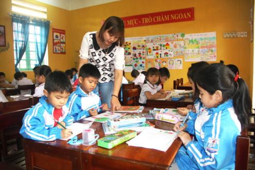 Xây dựng trường học đạt chuẩn quốc gia và kiểm định chất lượng giáo dục giai đoạn 2019 – 2020
