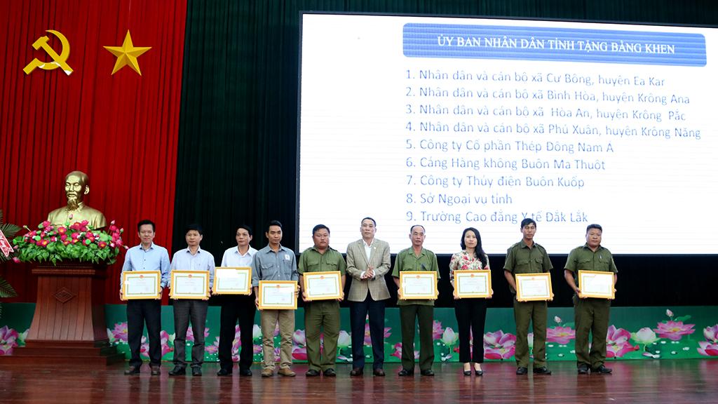 Ban chỉ đạo 138 của tỉnh triển khai nhiệm vụ năm 2019